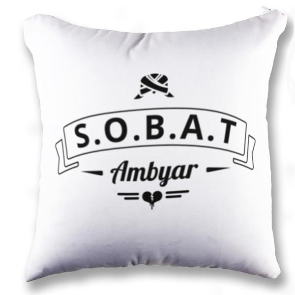 Jual Bantal Bantal Sobat Ambyar Print Bantal Sofa Kotak Full