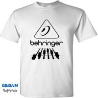 behringer logo. kaos t-shirt behringer logo