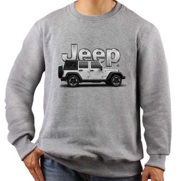 Jual Jaket Sweater JEEP - Print Sweater Pria - RedMango Custom ... 7f47056460
