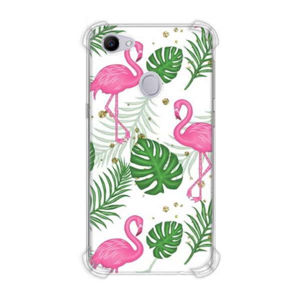 Jual Casing Hp Flamingo Leaves Print Oppo F7 Casing Custom Ciptaloka Com