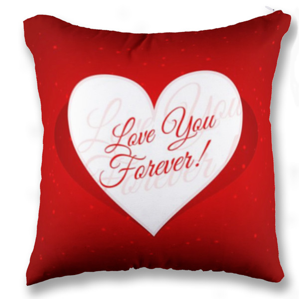 Jual Bantal Love You Forever - Print Bantal Sofa Kotak (Full-Print) Custom | Ciptaloka.com
