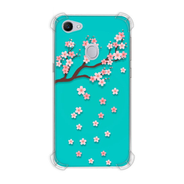 Jual Casing Hp Bunga Cantik Pink Sakura Print Oppo F7 Casing Custom Ciptaloka Com