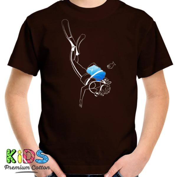 Jual Kaos Sambil Menyelam Minum Air Galon Print Kaos Anak Redmango Custom Ciptaloka Com