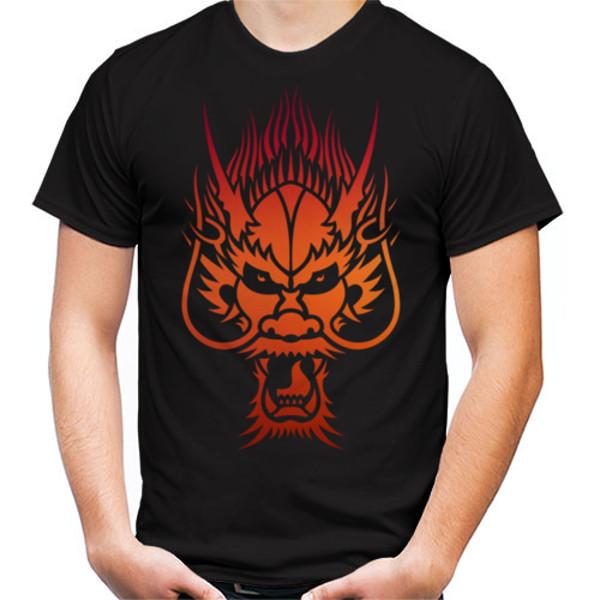 Jual Kaos Kepala Naga Api Print Kaos Pria Redmango Premium Custom Ciptaloka Com