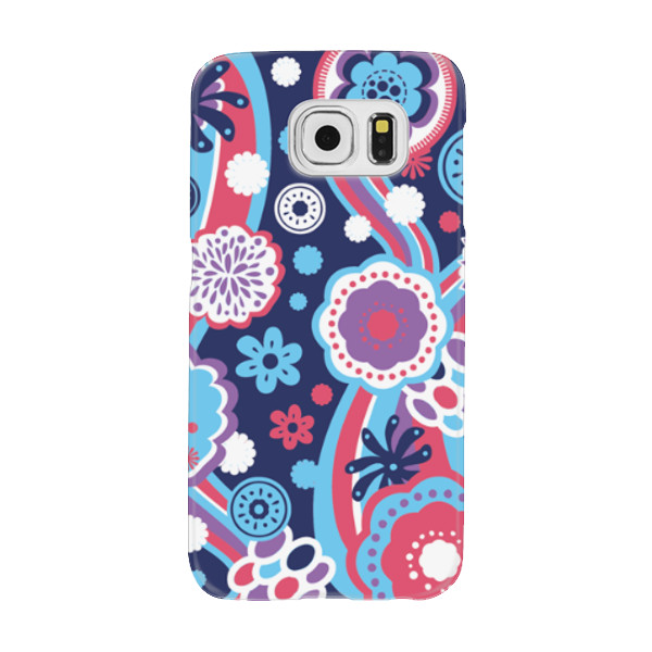 Jual Floral Wallpaper Casing Hp Print Samsung Galaxy S6 Casing