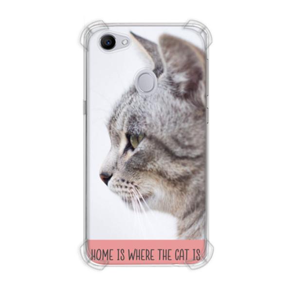 Jual Casing Hp Kucing Dari Samping Print Oppo F7 Casing Custom Ciptaloka Com