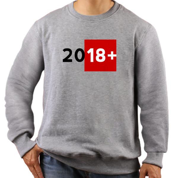Jual Jaket Sweater Desain Tahun Baru 2018 Lucu Unik Simpel Print