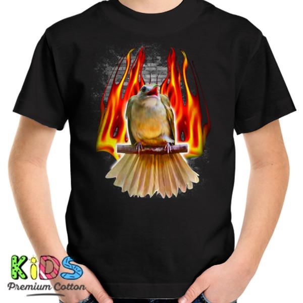 Jual Kaos Burung Kapas Tembak Print Kaos Anak Redmango Custom Ciptaloka Com