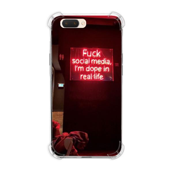 Jual Casing Hp Social Media Print Oppo A3s A5 Realme C1 Softcase Custom Ciptaloka Com